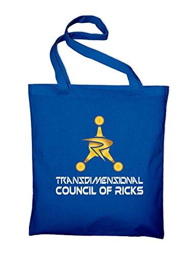Consiglio Transdimensionale Di Ricks Fan Logo Jutebeutel Royalblau
