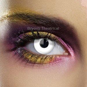 c722301d10667 Lentillas de contacto color anual - Colour Vision Crazy Lens WHITE OUT -  Sus ojos no
