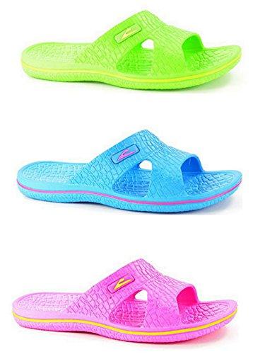 Foster Footwear , Mädchen Damen Jungen Pantoletten