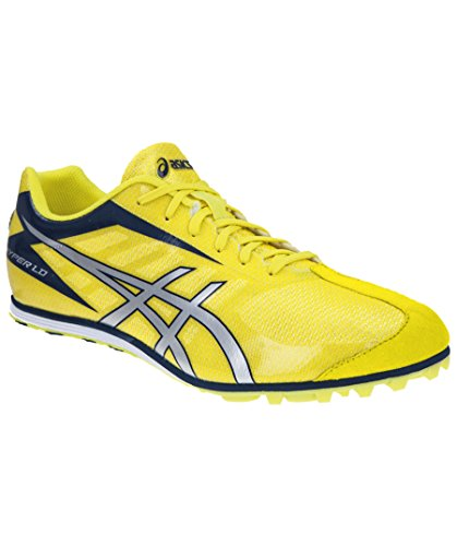 Herren Spike/Leichtathletikschuh Hyper LD 5 gelb/silber Unisex (Ld Spike)