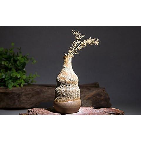 Art Vaso Fiori Artigianato Casa Decorazioni In Ufficio caffè Tavolo Ornamenti 12cm