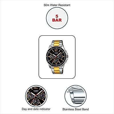 CASIO Reloj con Movimiento Cuarzo MTP-1374SG-1A de CASIO