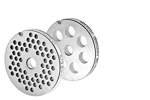 Bosch MUZ45LS1Jeu de grilles à trous 3,5mm + 10,0mm pour hachoir à viande et robot de cuisine Bosch de la gamme MUM4 MUM5, etc.