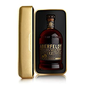 Aberfeldy 12-Year Old Gold Bar Gift Tin Whisky from Dewar's