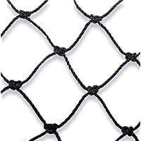 10mx10m(100qm)Taubenabwehrnetz Vogelabwehrnetz Katzenabwehrnetz Teichnetz Profiqualität aus Polyäthylen von MD in schwarz