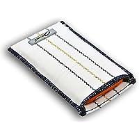 Norrun Wanda Handytasche aus Segeltuch maßgeschneidert mit Mikrofasereinlage, Strahlenschutz ersetzt die Tasche von Hersteller / Modell Apple iPhone X