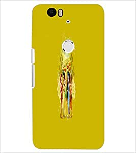 PRINTSWAG FRIENDS Designer Back Cover Case for HUAWEI NEXUS 6P