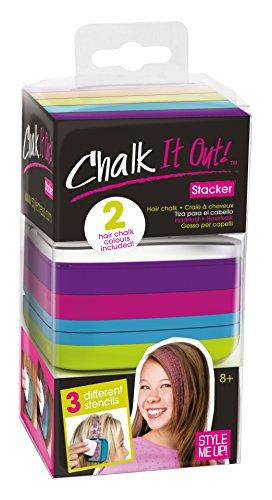 Estilo ME UP! 01618 - Accesorios para el cabello - pelo tiza lavable Stacker