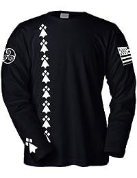 PRIMA ITALIA T-Shirt Manches Longues Celtic Breizh Bretagne BZH Drapeau -  TRISKELL 0753aa9975f