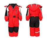 Moderei Auswahl an Schneeanzug | Schneeoverall Skianzug | Skioverall Snowboard Unisex | Jungen | Mädchen | Herren | Damen Schneeanzug Hauptfarbe-Rot (Rot, 134) …