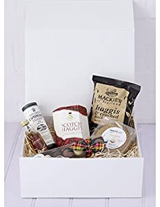 Burns Night In Hamper by Fine Scottish Hampers