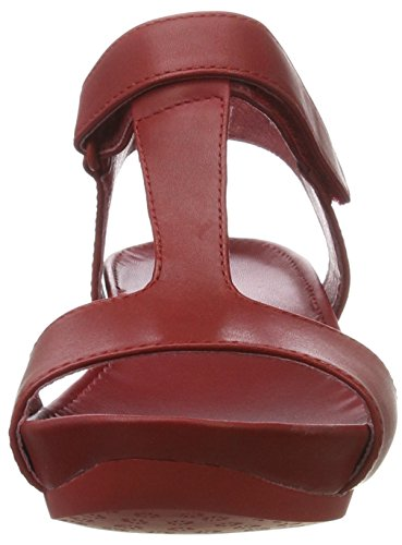 Femme Micro Negro Negro Supersoft Sandales Camper rosso 008 Medio Rouge qHZOaxww