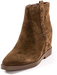 Ash Zapatos Goldie Russet Botines de Cuna de Ante Mujer
