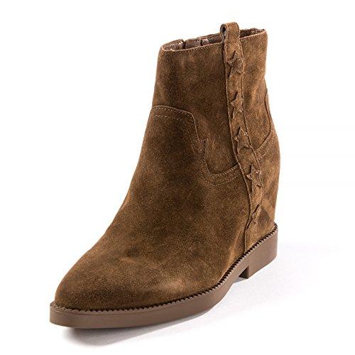 Ash Footwear Goldie Russet Suede Wedge Boot 39EU/6UK Russet