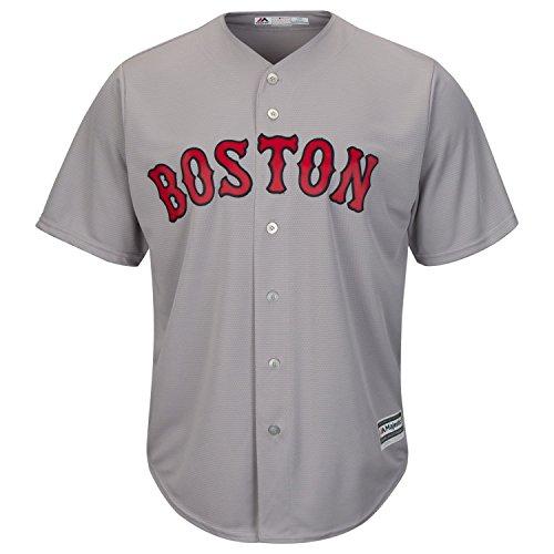 Majestic Boston Red Sox Cool Base MLB Trikot Road Grau XXL