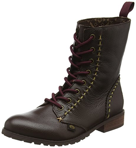Animal Indy, Bottes Classiques Femme Marron (Dark Brown)