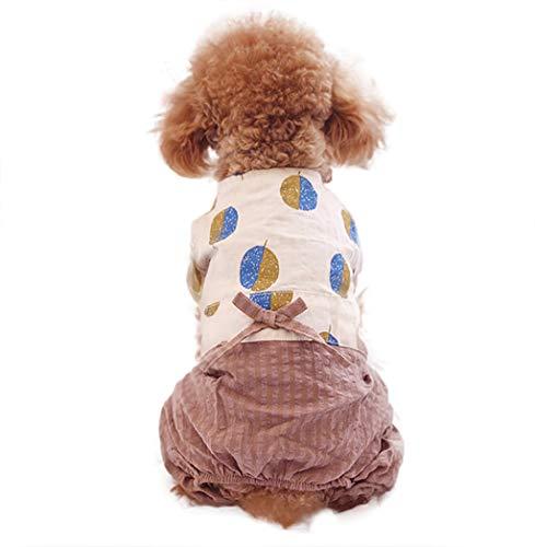 T.boys HundeKleid,Frühling Sommer Haustier Hund Shirt Rock Lady Hund Kleid Floral Rock Kleiner Hund Prinzessin Dress, Hund Kostüme Haustier Katzen Kleidung