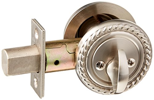 Emtek 8464 Satin Nickel Deadbolt Emtek 8464 Rope S (Satin-nickel Emtek)