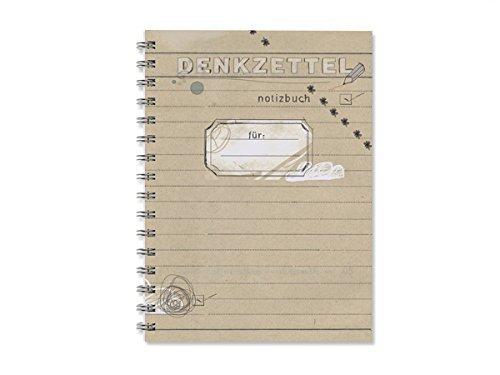 Denkzettel, Kleiner Notizblock A6, Notizbuch mit To-Do-Liste & Blanko-Seiten, perfekt für den Adventskalender!