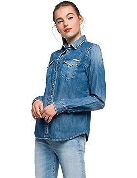 REPLAY Jeanshemd, Blusa para Mujer