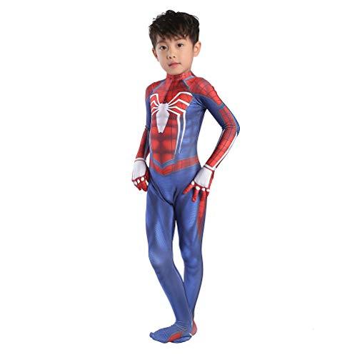 Cosplay Kleidung Kinder Spider-Man PS4 Anime Kostüm Lycra Weihnachten Halloween Kleidung Marvel Avengers Cosplay - Spiderman Kostüm Realistisch