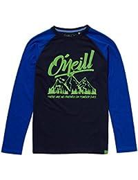 O'Neill Long Sleeve Oceanside Camiseta, Infantil, Ink Blue, 140