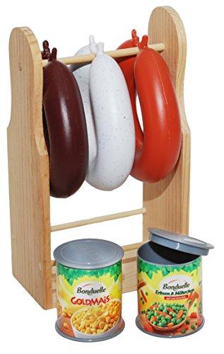 *Tanner 0304.8 – Wurstständer aus Holz*