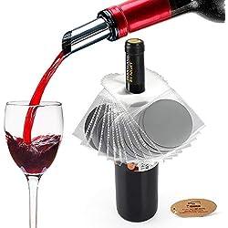 Yobansa Ensemble de verseurs à vin,verseur de vin, verseur à vin, Accessoires pour Le vin (Style 01)