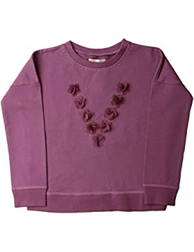 VITIVIC Mädchen T-Shirt TIME Flores Tel Ciruela