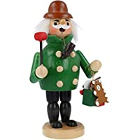 com-four® Räuchermännchen für die Weihnachtszeit (01 Stück - grün) preisvergleich bei billige-tabletten.eu