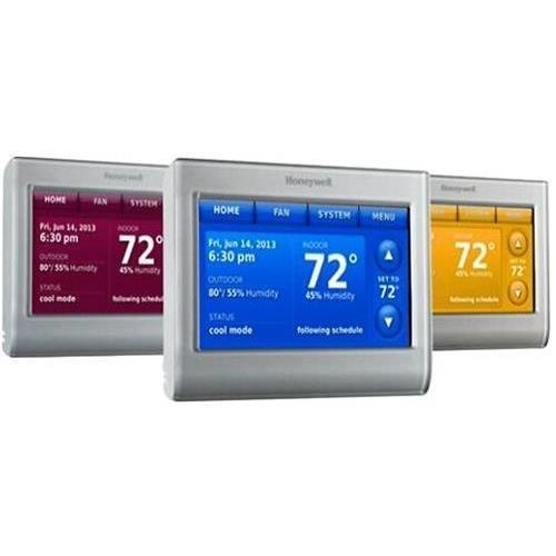 Honeywell RTH9580WF WiFi 9000 Color Touchscreen Thermostat, 8.06 sq in., Premier Silver-2