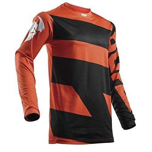 THOR PULSE LEVEL YOUTH Motocross Kinder Jersey 2018 - schwarz orange -
