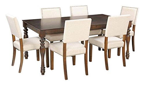 Royal Oak Ranger Six Seater Dining Table Set Brown