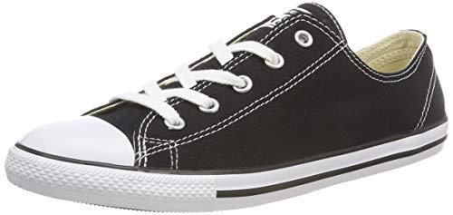 Converse Damen All Star Dainty Ox Sneaker, Schwarz (Noir), 38.5 EU