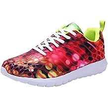 Bestow Pareja Modelos Hombres y Mujeres Zapatos Transpirables Zapatos  Casuales Zapatos Deportivos Correr Transpirable Zapatos de 67585209e765