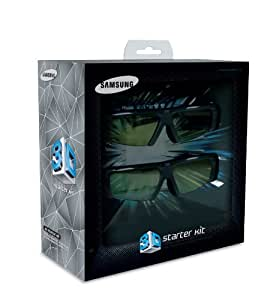 Samsung 3D Starter Kit SSG-P2100T With Monsters Vs Aliens 3D Blu-ray movie