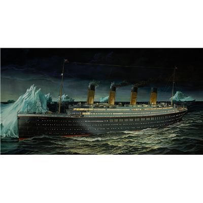 Revell Modellbausatz 05206 - R.M.S. Titanic im Maßstab 1:400