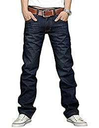 Newfacelook New Designer Fashion Denim Blue Jeans tenue décontractée Pantalons