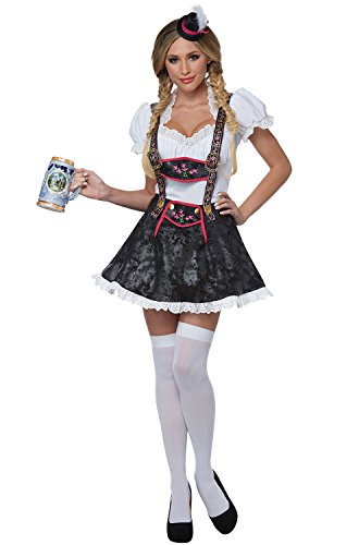 Lederhosen Girl Kostüm - California Costumes L