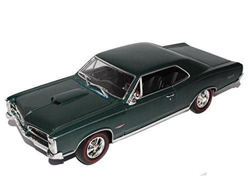 pontiac-gto-grun-coupe-1966-1-18-welly-modellauto-modell-auto