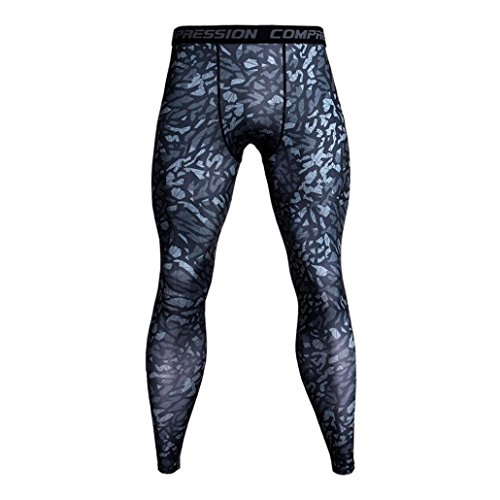 MOIKA Sport Leggings Herren, Armour Leggings Herren Fitness - Hose Traininghose Jogginghose...