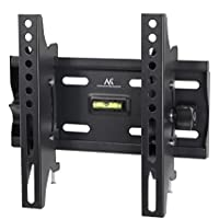 "Maclean - Mc-667 - soporte fijo de pared para pantalla lcd led tv (13-42"", 25 kg, vesa) color negro nivel incorporado"