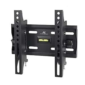 Maclean MC-667 Wandhalterung für 58-107cm (23-42 Zoll) LCD/LED/Plasma Fernseher (max. 25 kg, VESA 50x50 bis 200x200 mm, 53mm Wandabstand) schwarz