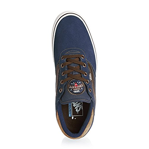 Vans Herren M Gilbert Crockett P Low-Top midnight navy/brown
