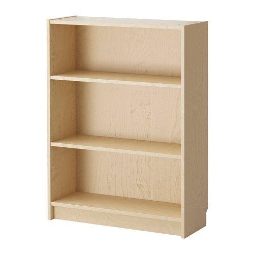 Alta-calidad-ajustable-estantes-Billy-Estantera-para-libros-chapa-de-abedul