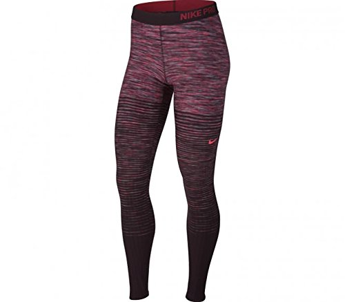 Nike Damen W NK Pro Hyperwarm Eng Nrdc Trainings-Tights, Racer Rosa, M Nike Kompressions-hose