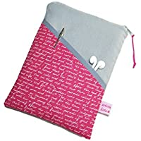"""eReader Tasche eBook Reader Tablet Hülle Poesie rot, Maßanfertigung bis max. 10,9"""" z.B. für iPad Mini 4"""