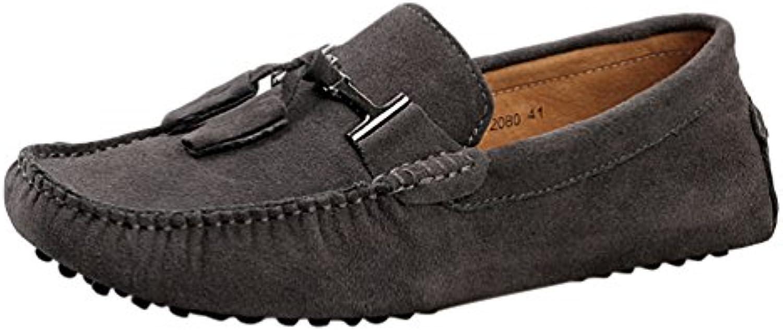 Bayamte Unisex Komfort Slip on Mokassins Fahren Schuhe Loafer Schuhe Mit Quaste Dekoration