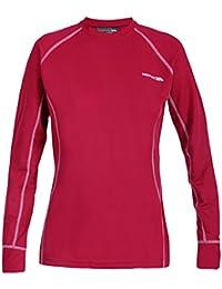 Trespass mujer basegirl, mujer, color rojo, tamaño XL