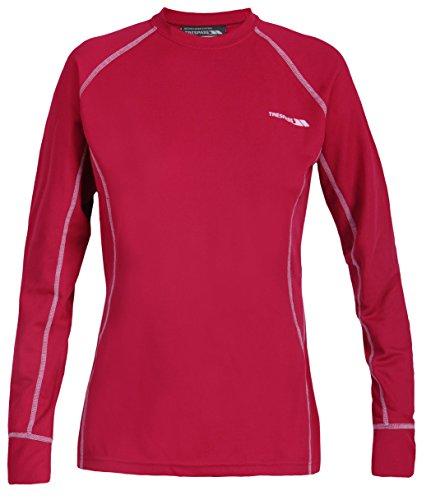 Trespass Basis Shirt Thermo Damen Sangria